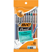 Bic Mech Pencil 10 Pk Asst .5Mm