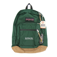 Backpack with Suede Bottom