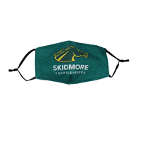 Skidmore Thoroughbreds Fabric Mask