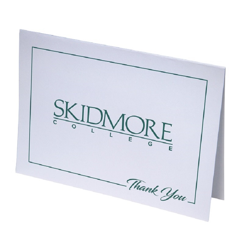 Skidmore College Thank You Cards (SKU 1004271738)